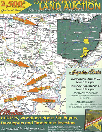 AEP To Sell Land In Ohios Athens Meigs And Muskingum Counties - Where is athens located