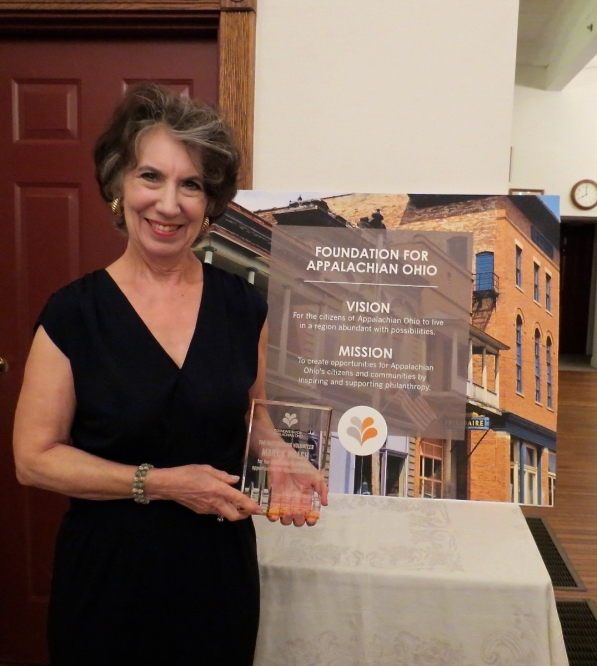 Mary K. Walsh was named 2015 Outstanding Volunteer by the Foundation for Appalachian Ohio.