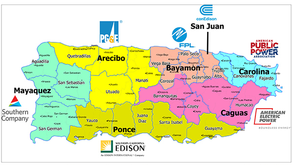 AEP Helps Provide New Prospects For Power In Puerto Rico AEP - Guaynabo map